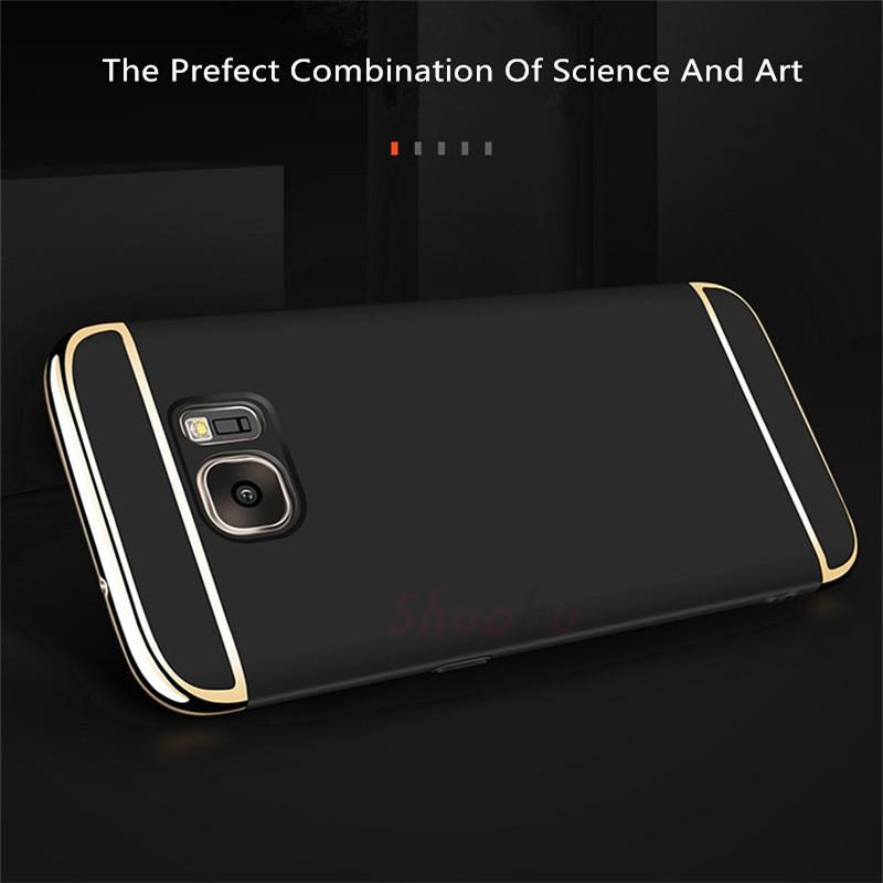 3 in 1 PC Hard Shell Case for Samsung S8/S8 plus S7/S7 edge - bevsu