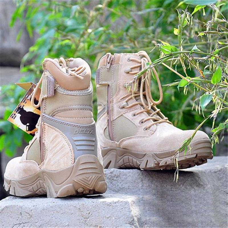 Boots - 2017 New Outdoor Hiking Military Tactical Boots - Bevsu