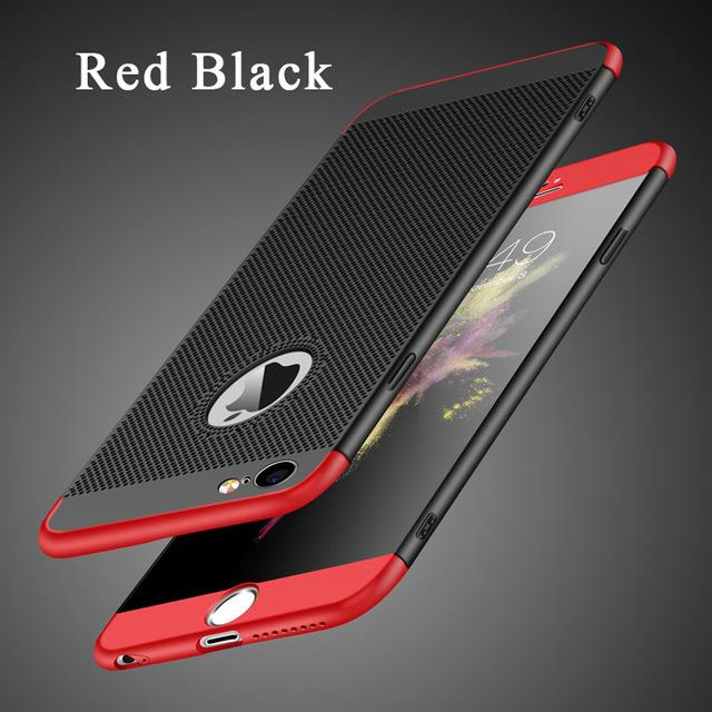 360 Protection Heat Dissipation Phone Case For iPhone - bevsu