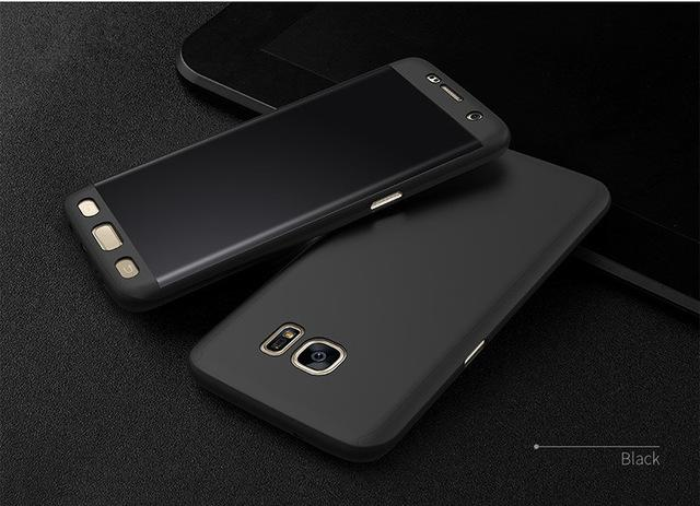 360 Degree Ultra Thin Phone Case For Samsung Galaxy S8 S8 Plus S7 S6 - bevsu