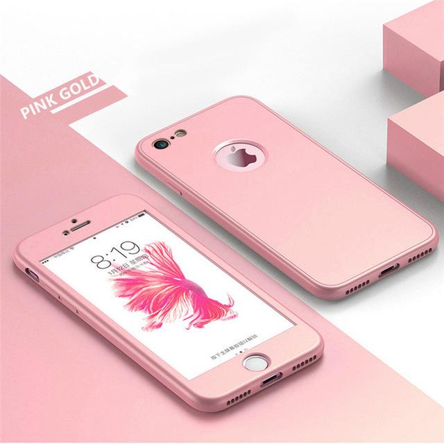 360° Full Body Soft Silicone Protective Cover for iPhone 8 7 7 plus 6 6 plus - Buy 2, second one 30% off-old - bevsu