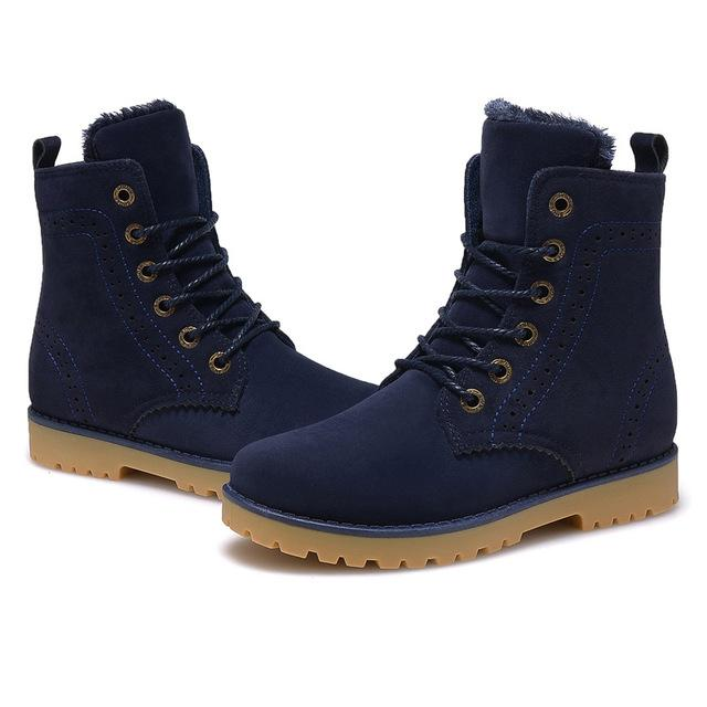 Boots - 2017 New Fashion Unisex Lovers Boots - Bevsu