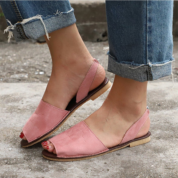 Women's Gladiator Open Toe Stretch Belt Fashion Platform Shoes