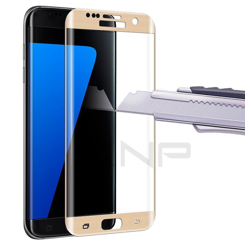3D Full Cover Tempered Glass (For Samsung S6 S7 Edge) - bevsu