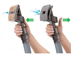 360 Vacuum Grooming Brush - bevsu