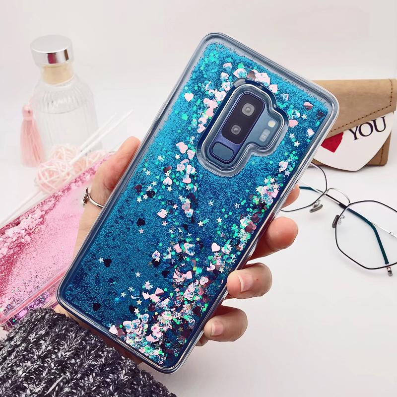 Bling Glitter Dynamic Quicksand Case for Samsung S9/S9 Plus - Bevsu