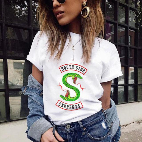 Women's South Side Serpents Casual T-Shirt - icu-sexy