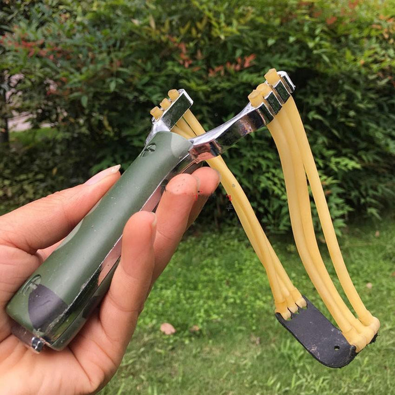 Aluminium Alloy Powerful Slingshot - bevsu