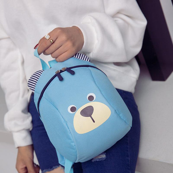 Age 1-3 Toddler backpack Anti-lost kids baby bag cute animal dog