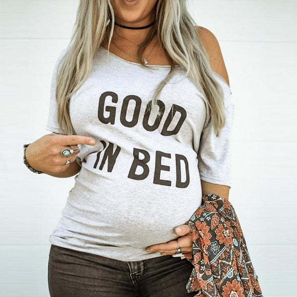 Maternity GOOD IN BED Top