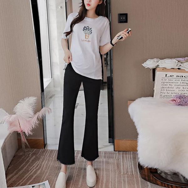 Maternity Wide Leg Tumor Pants