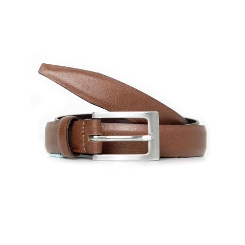 1.5 Cm Slim Belt - Chestnut - Belt
