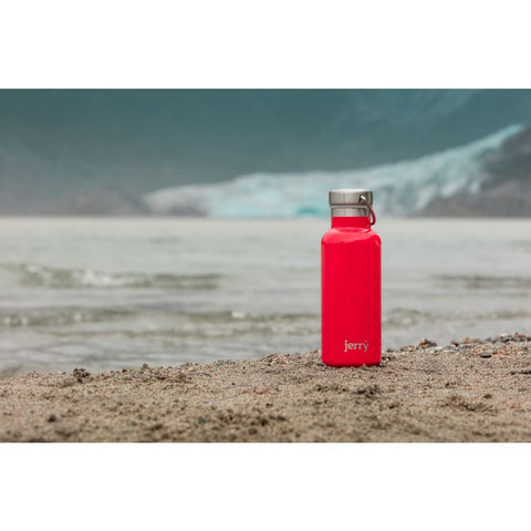 550 Ml Water Bottle - Snapper Red - Water Bottle