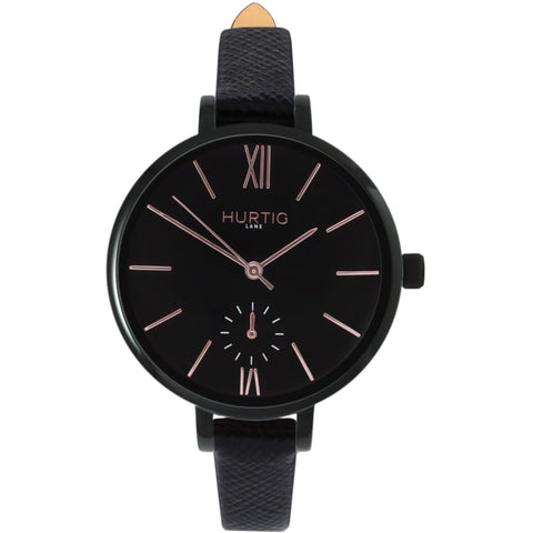 Amalfi Womens Watch - Black / Black / Black - Watch