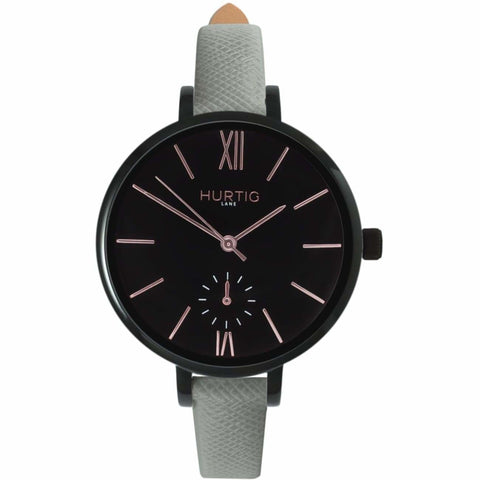 Amalfi Womens Watch - Black / Black / Grey - Watch