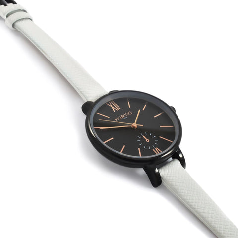 Amalfi Womens Watch - Black / Black / White - Watch