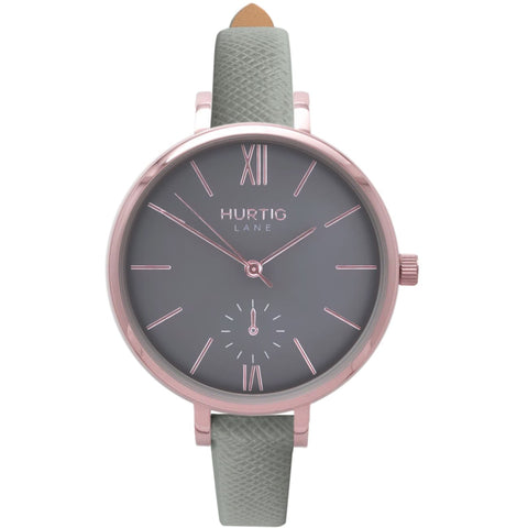 Amalfi Womens Watch - Rose Gold / Grey / Grey - Watch
