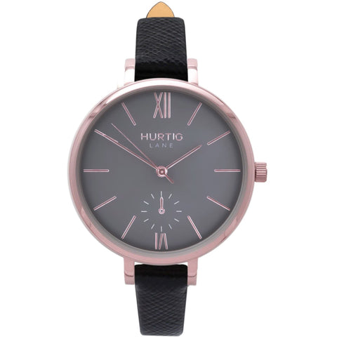 Amalfi Womens Watch - Rose Gold / Grey / Black - Watch