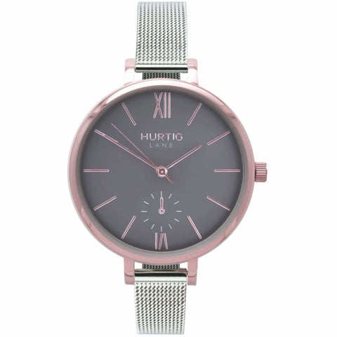 Amalfi Womens Watch - Rose Gold / Grey / Silver - Watch