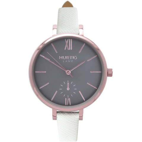 Amalfi Womens Watch - Rose Gold / Grey / White - Watch