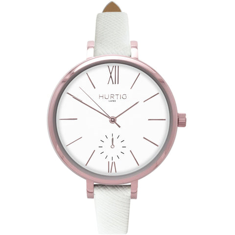 Amalfi Womens Watch - Rose Gold / White / White - Watch