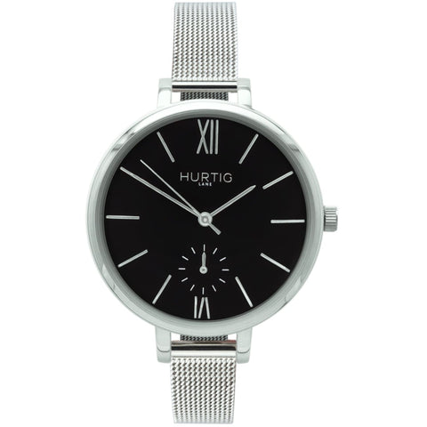 Amalfi Womens Watch - Silver / Black / Silver - Watch