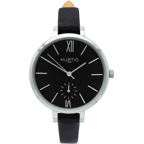 Amalfi Womens Watch - Silver / Black / Black - Watch