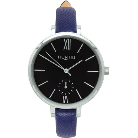 Amalfi Womens Watch - Silver / Black / Blue - Watch