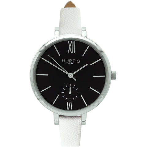 Amalfi Womens Watch - Silver / Black / White - Watch