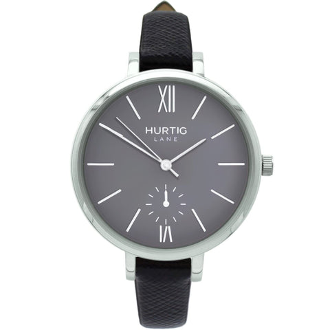 Amalfi Womens Watch - Silver / Grey / Black - Watch