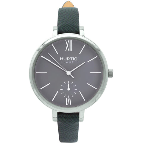 Amalfi Womens Watch - Silver / Grey / Green - Watch