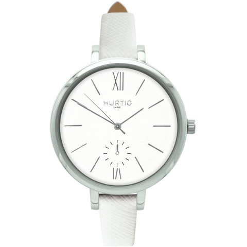 Amalfi Womens Watch - Silver / White / White - Watch