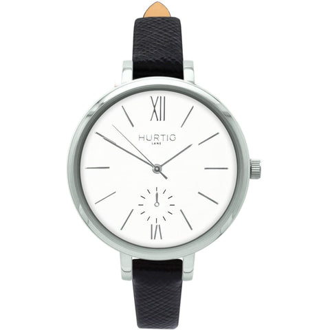 Amalfi Womens Watch - Silver / White / Black - Watch