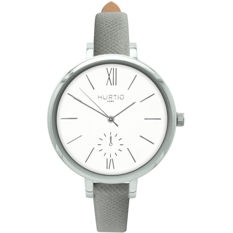 Amalfi Womens Watch - Silver / White / Grey - Watch