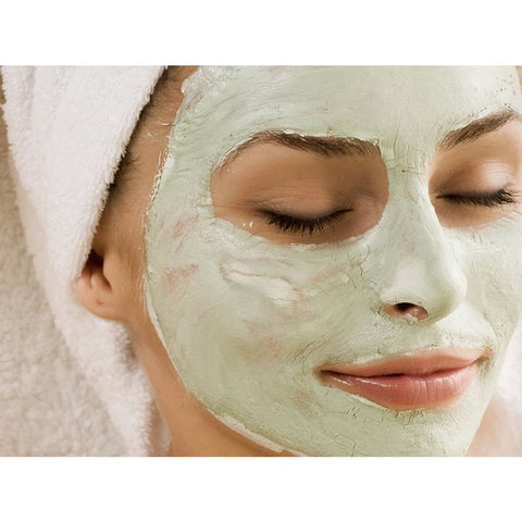 Apple Avocado & Aloe Natural Clay Mask - 100 Ml - Face Masks