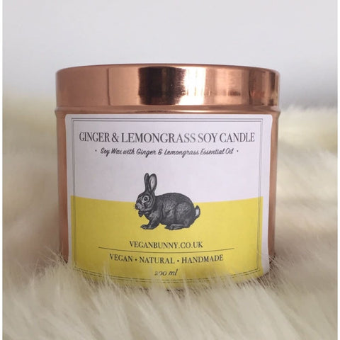 AWARD WINNING - Ginger Soy Candle - 200 ml - Soy Candle