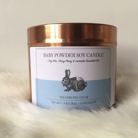 Baby Powder Soy Candle - Soy Candle