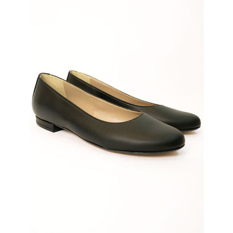 Ballerina Flats - Black - Shoes