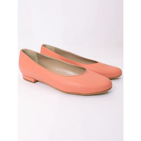 Ballerina Flats - Coral - Shoes