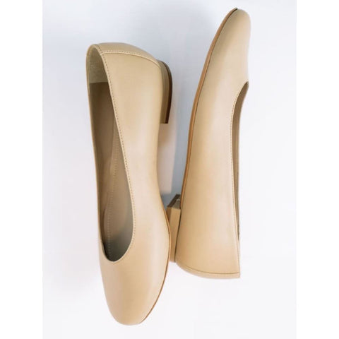 Ballerina Flats - Sand - Shoes