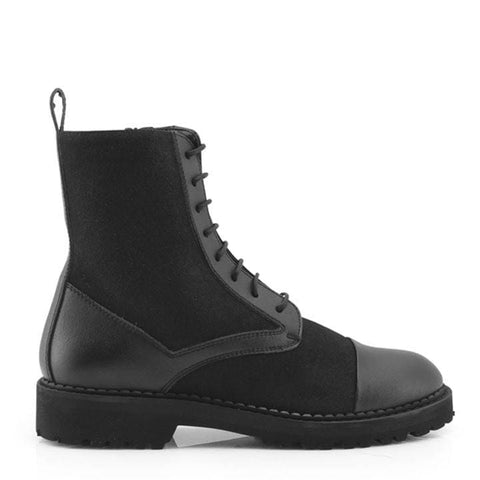 Bettina Vegan Ankle Boots - 2.5 UK / 35 EU / 3.5 USM / 4.5 USF / Black - Boots