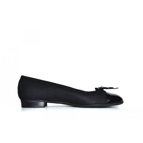 Catherine Vegan Ballerina - Black - Shoes