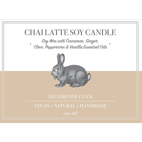 Chai Latte Soy Candle - 200 ml - Soy Candle
