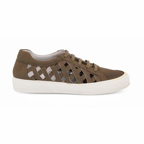 Charlie Suede - Vegan Sneaker - Unisex - Taupe - Shoes