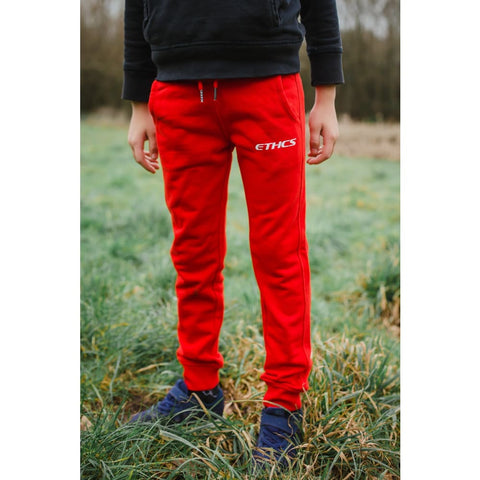 CHILDRENS RED SWEATPANTS - Sweatpants
