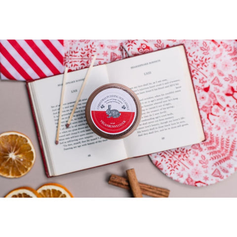 Christmas Pudding Soy Candle - Soy Candle