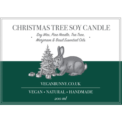 Christmas Tree Soy Candle - Soy Candle