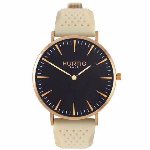 Classic Attivo Mens Watch - Gold / Black / Cream - Watch