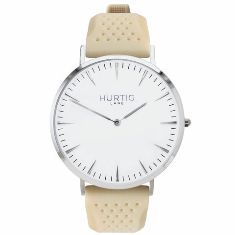 Classic Attivo Mens Watch - Silver / White / Cream - Watch