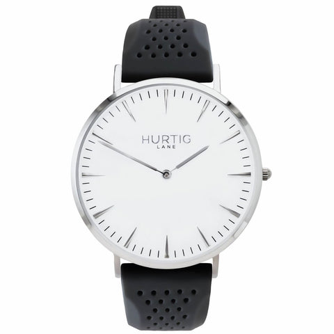 Classic Attivo Mens Watch - Silver / White / Grey - Watch